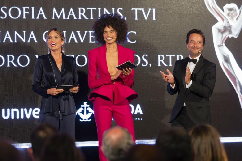 Diana Chaves, Ana Sofia Martins e José Pedro Vasconcelos
