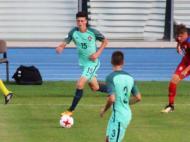 Seleção sub-19 frente à República Checa