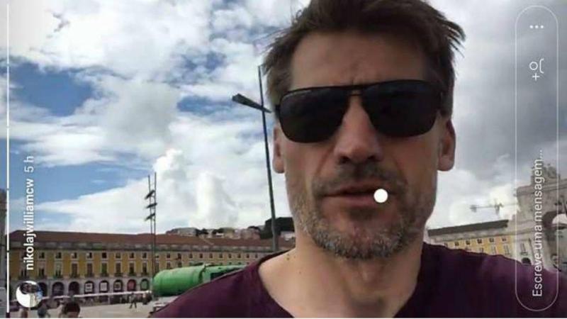 Jaime Lannister em Lisboa
