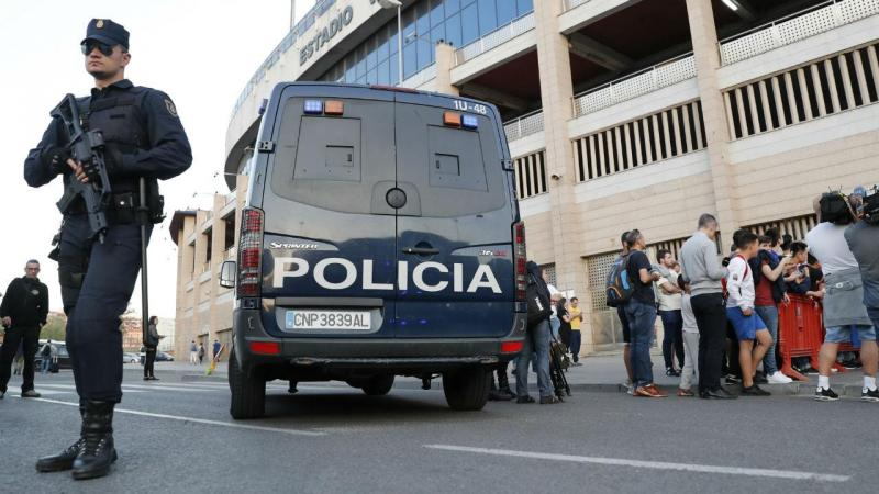 Polícia Espanha