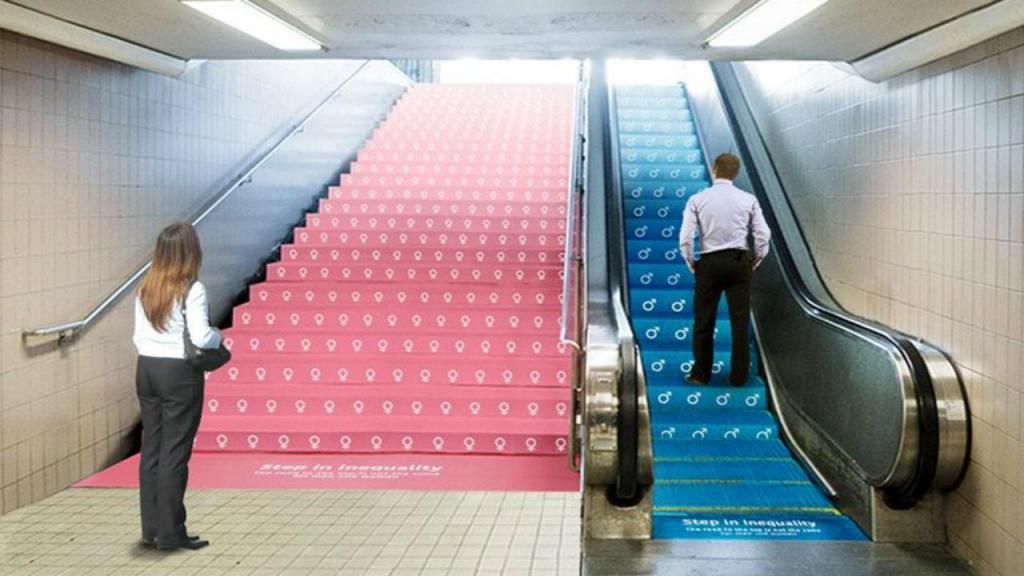 Campanha contra a desigualdade de género