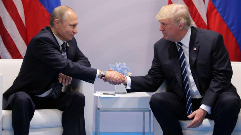 O encontro de Putin e Trump à margem do G20