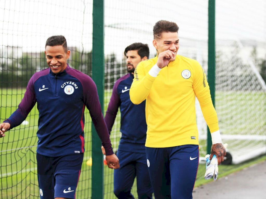 Manchester City - Ederson e Fernando