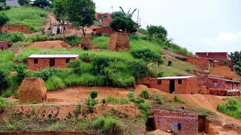 Cidade de Mbanza Congo, Angola