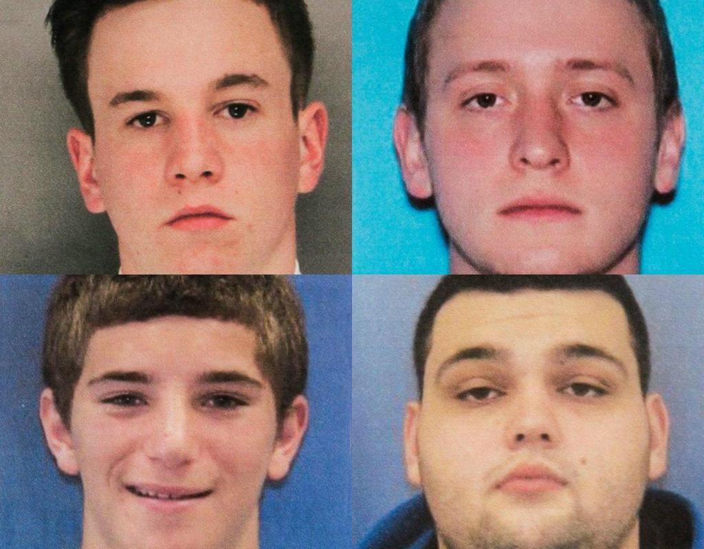 Quatro jovens desaparecidos em Filadélfia