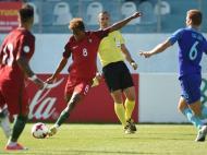 Seleção de sub-19 na final do Euro (Foto FPF)