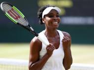 Venus Williams na final de Wimbledon
