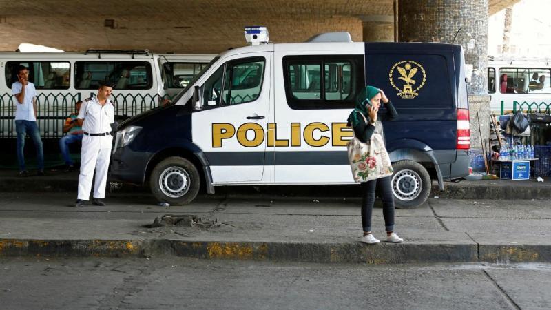 Polícia egípcia