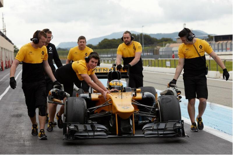 Rosemary Smith com o Renault F1