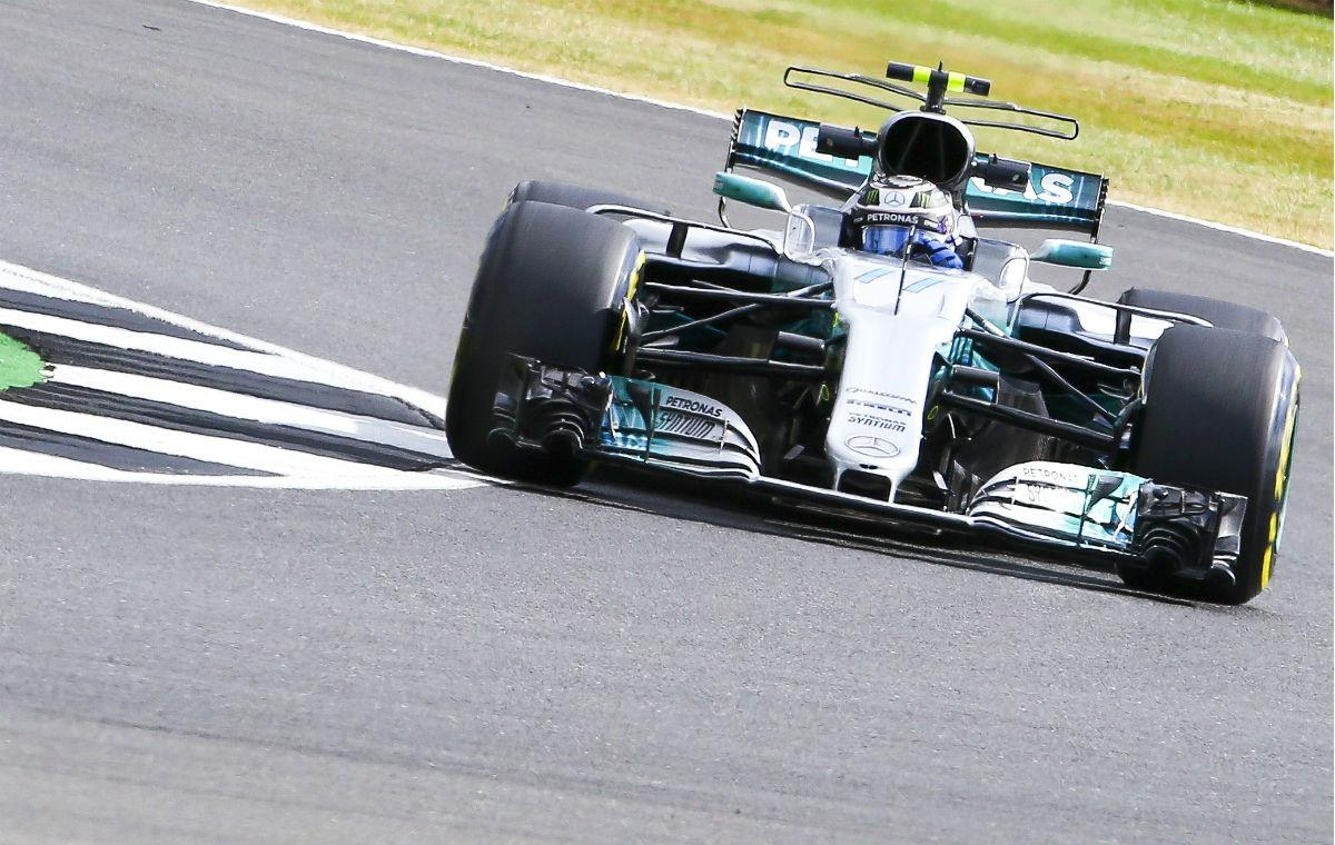 Valtteri Bottas em Silverstone