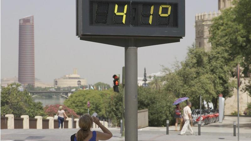 Espanha - recorde de calor