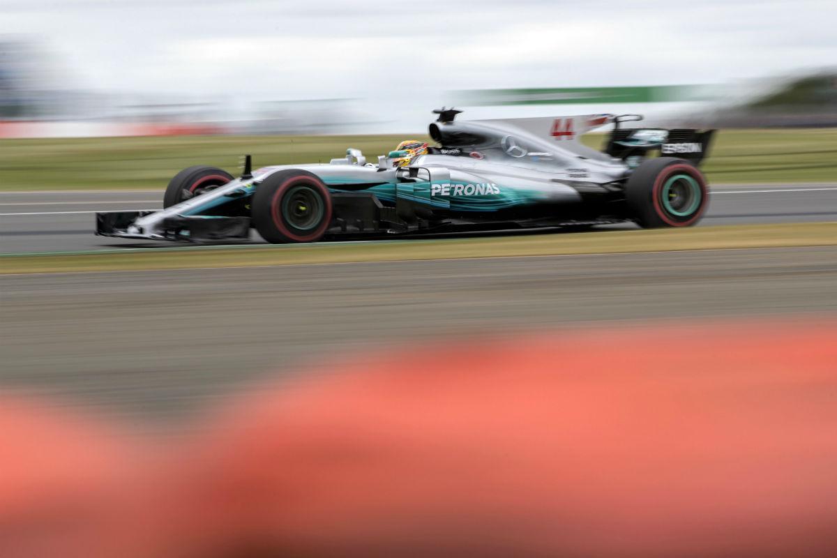 Lewis Hamilton em Silverstone