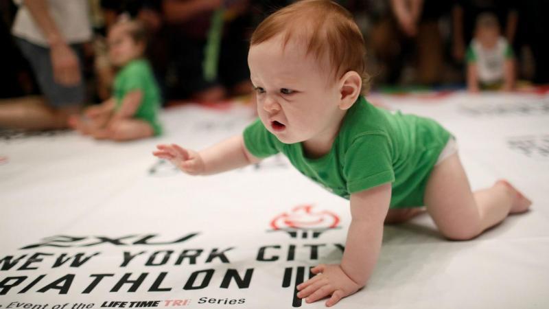 Em Nova Iorque há uma corrida especial para bebés