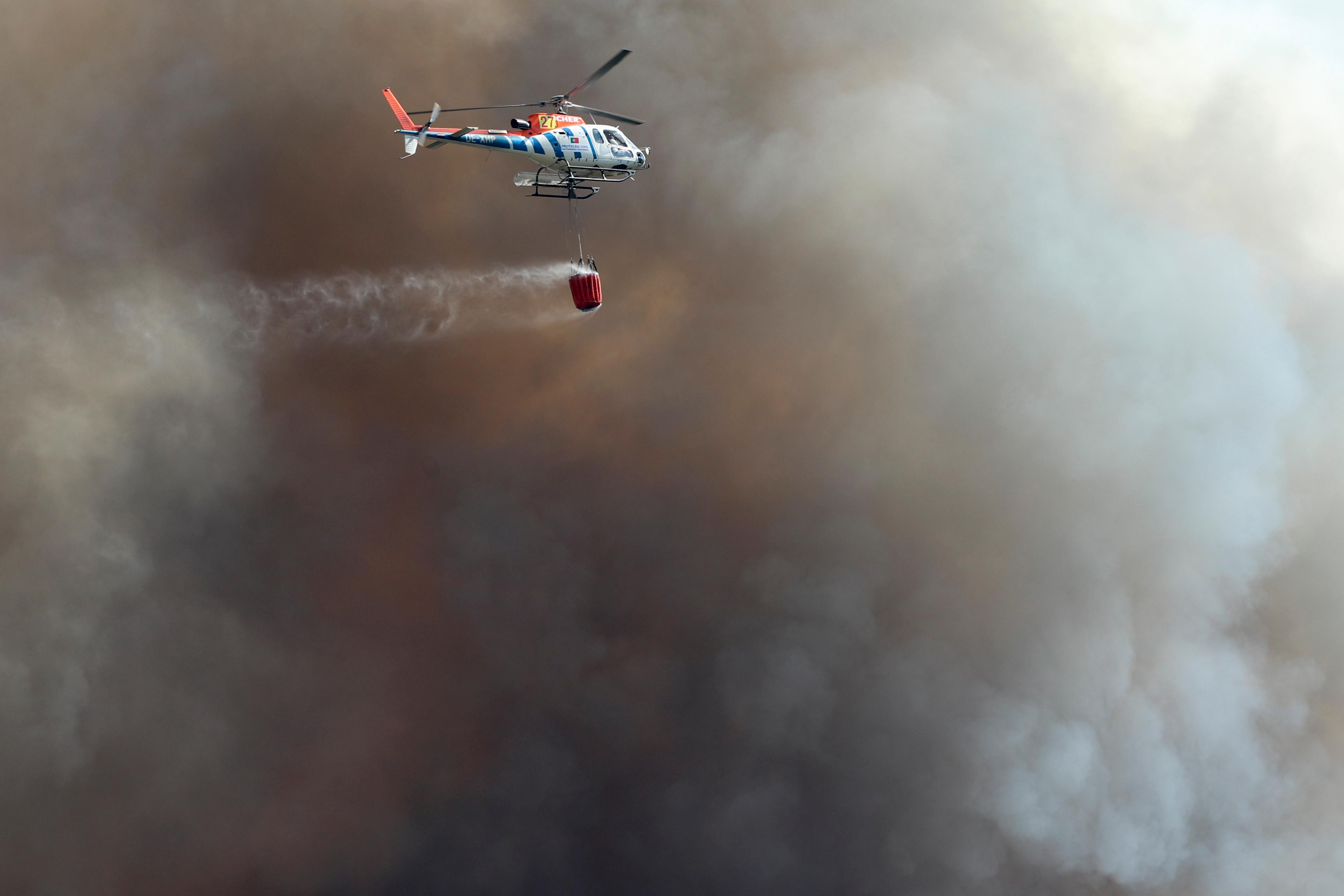 Incêndio em Alijó