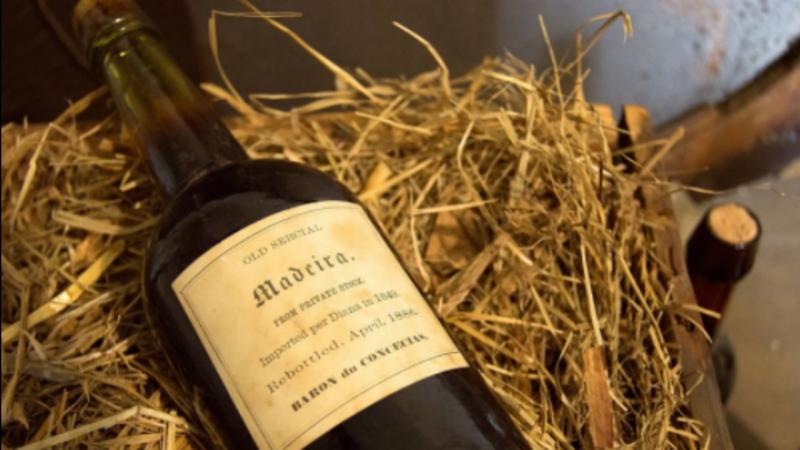 Vinho da Madeira com mais de 200 anos descoberto nos Estados Unidos