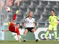 Futebol Feminino: Áustria-Suiça (Lusa)