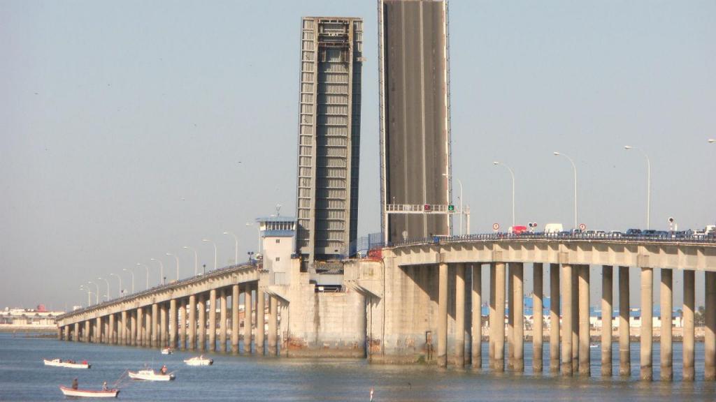 Ponte José Leon de Carranza, Cádiz, Espanha