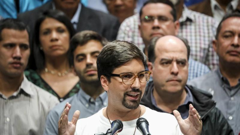 Freddy Guevara - deputado oposição Venezuela