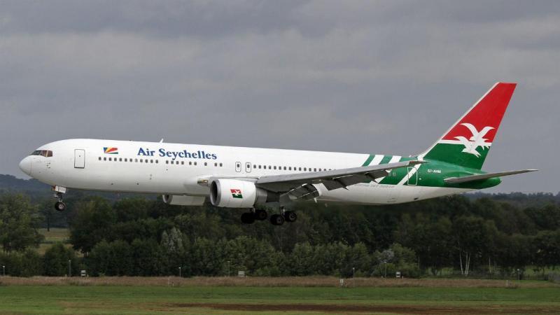Avião da Air seychelles