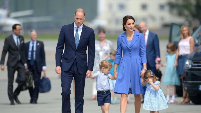 Família real inglesa na Alemanha