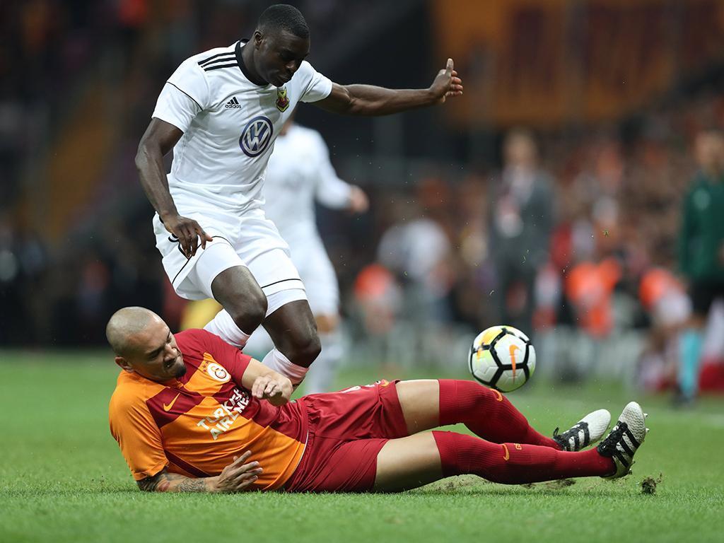 Galatasaray-Östersunds (Lusa)
