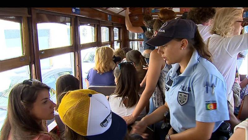PSP mantém caça aos carteiristas e apoio aos turistas em Lisboa