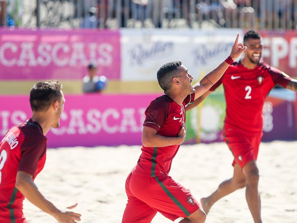 Futebol de praia: Portugal-France (Lusa)