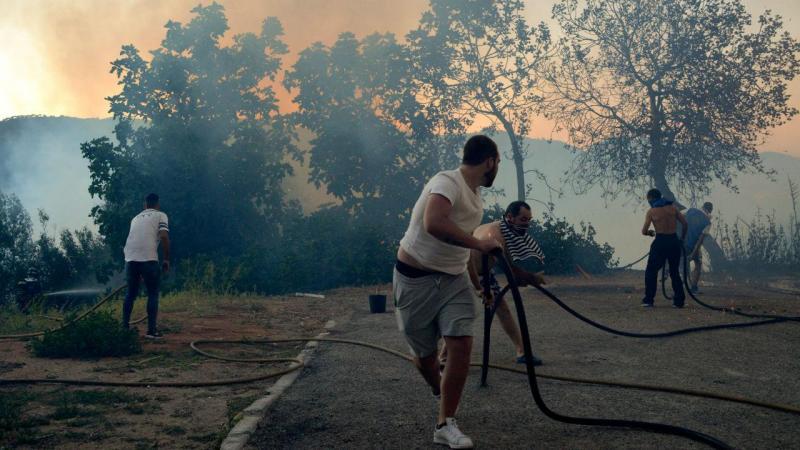 Fogo em Setúbal obriga a evacuar hotel e dezenas de casas