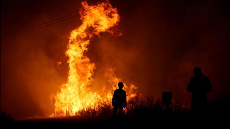 Incêndio em Mação