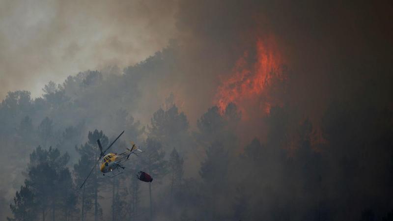 Incêndio em Vila Velha de Rodão