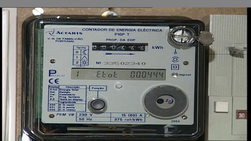 Contador de eletricidade