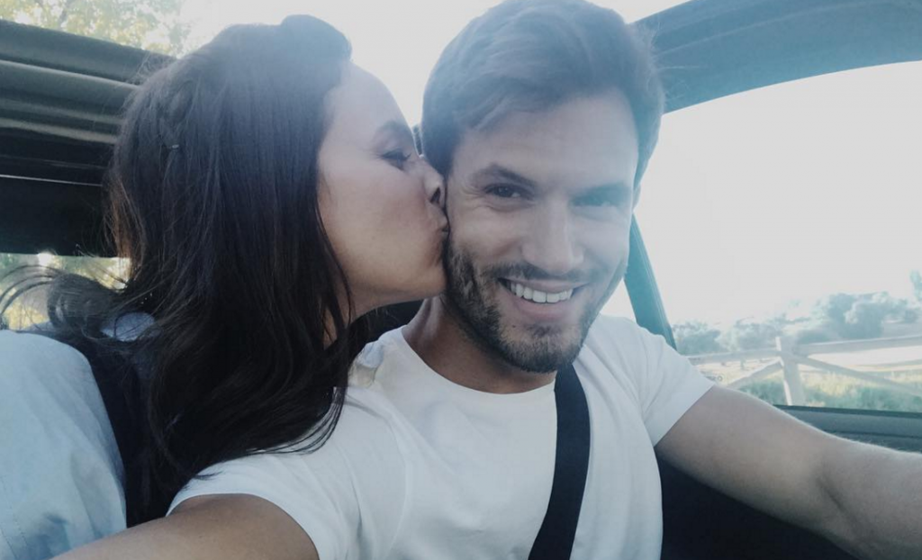 Sara Prata e Ricardo Oliveira
