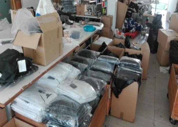 ASAE - Apreensão de vestuário contrafeito
