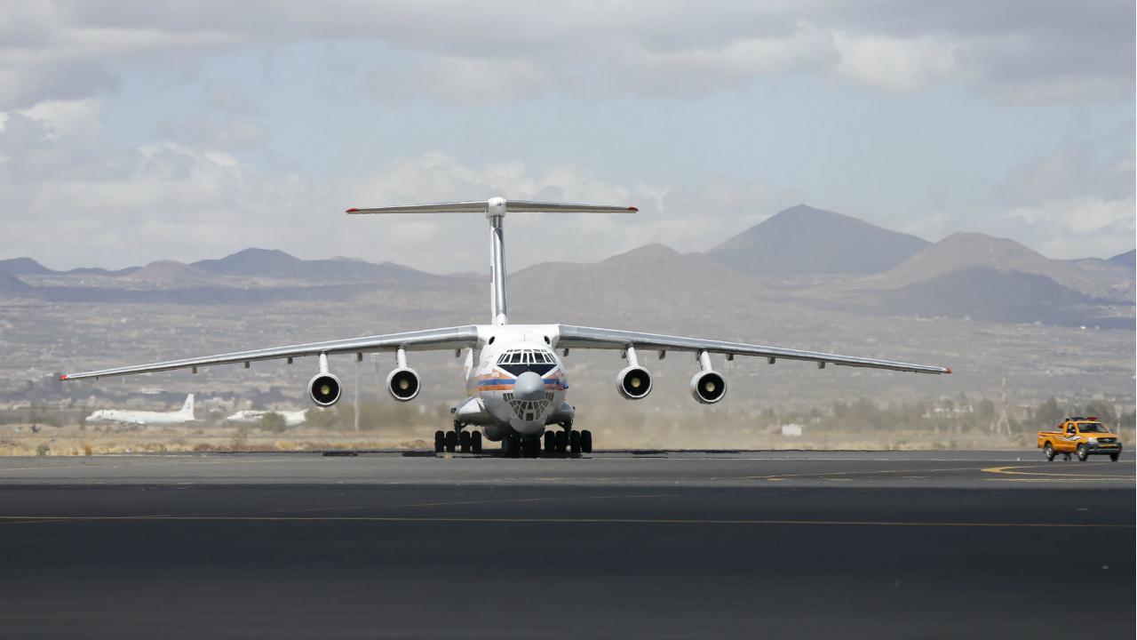 Avião cargueiro russo (arquivo)