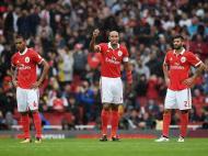 Benfica perde com o Arsenal (Lusa)