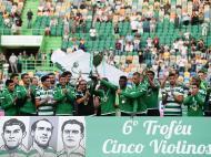Sporting vence Cinco Violinos (Lusa)
