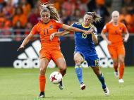 Futebol Feminino: Holanda-Suécia (Lusa)