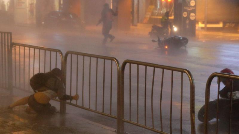 Tufão em Taiwan faz mais de 80 feridos