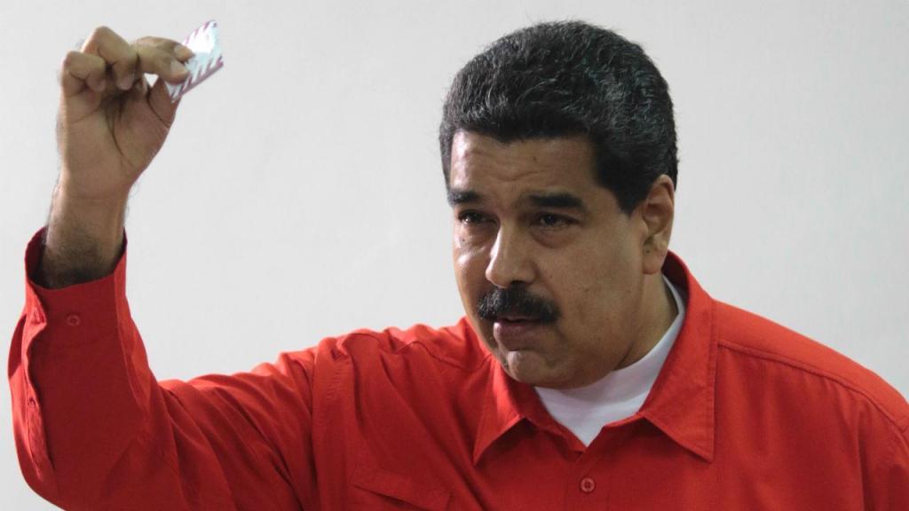 Maduro foi o primeiro a votar para a Assembleia Constituinte
