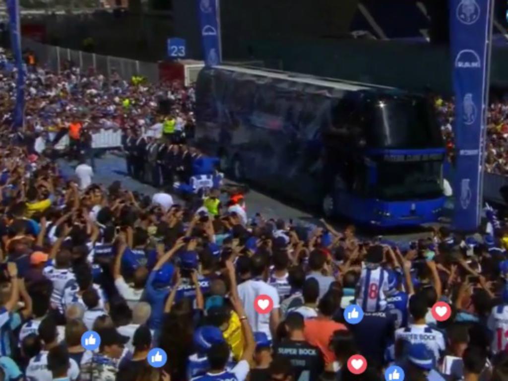 Autocarro do FC Porto