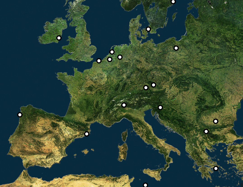 Cidades candidatas a receber a Agência Europeia do Medicamento