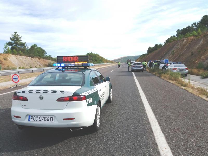 Operação de fiscalização da Guardia Civil