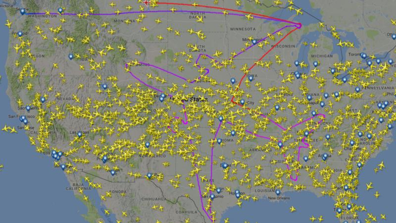 Boeing nos céus