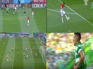 Vídeo-árbitro Sporting-Mónaco