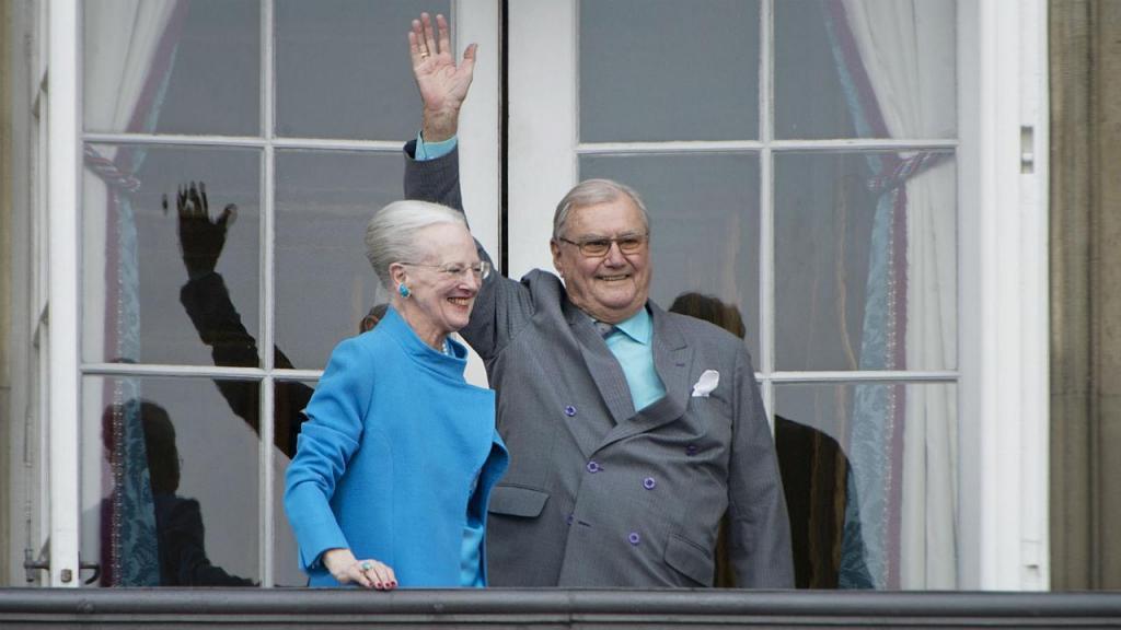 Príncipe Henrik e a mulher
