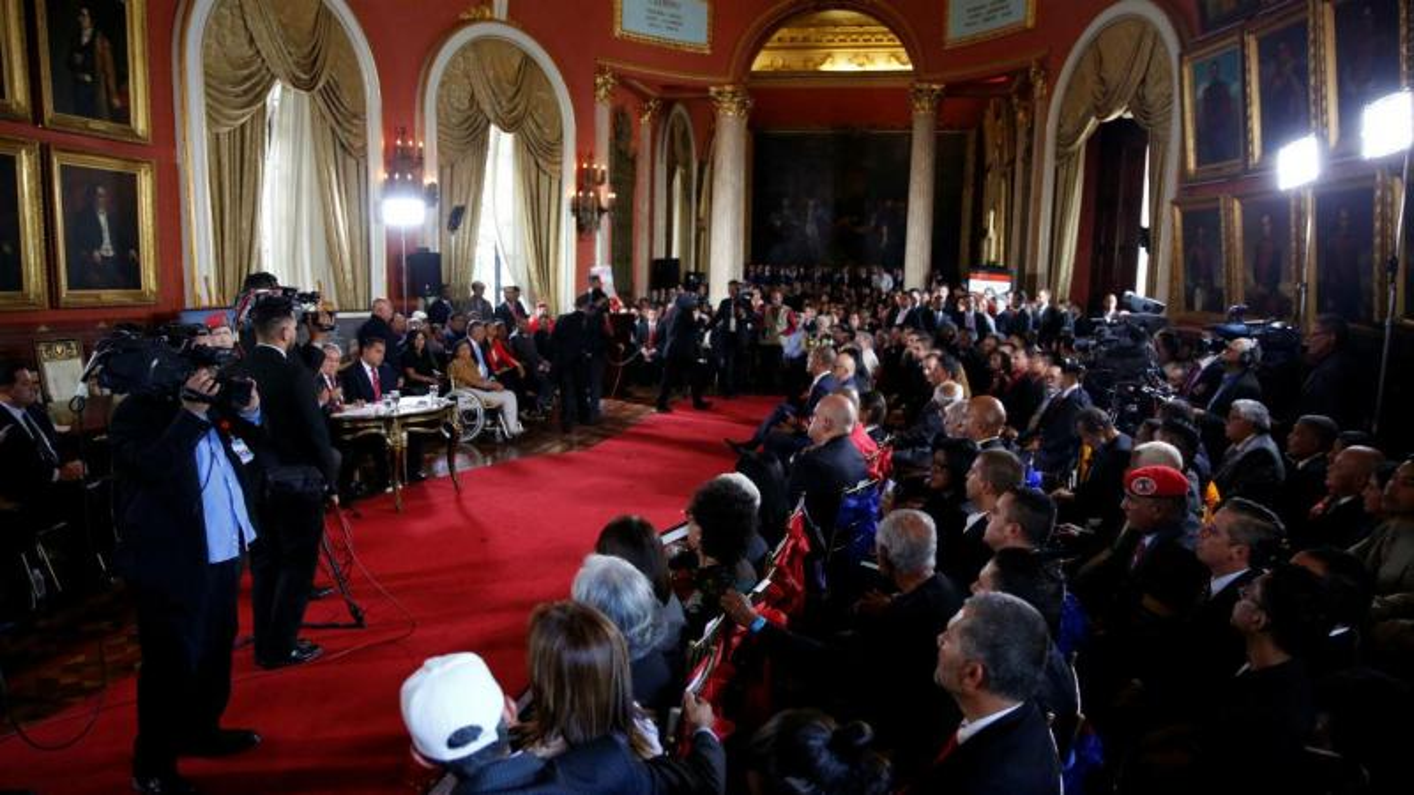Primeira sessão da Assembleia Constituinte na Venezuela