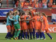 Futebol Feminino: Holanda-Dinamarca (Reuters)