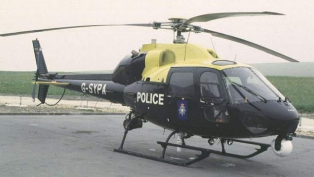 Helicóptero South Yorkshire Police