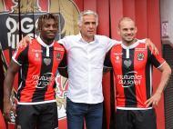 Sneijder e Allan Saint-Maximin (Reuters)