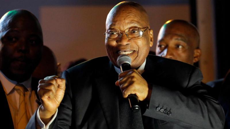 Jacob Zuma - presidente da África do Sul
